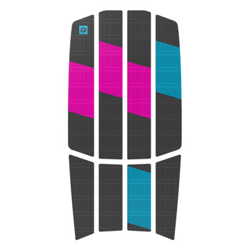 Duotone Traction Pad Team - Front - Grey/Pink