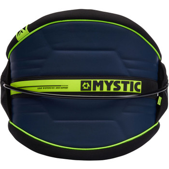Mystic Arch Waist Harness - Navy/Lime