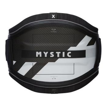 2021 Mystic Majestic X Waist Harness - Black/White