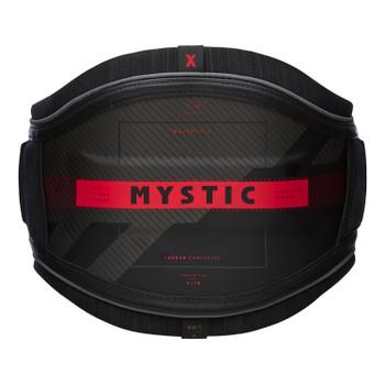 2021 Mystic Majestic X Waist Harness - Black/Red