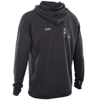 2021 Ion Wetshirt Hood LS - Black
