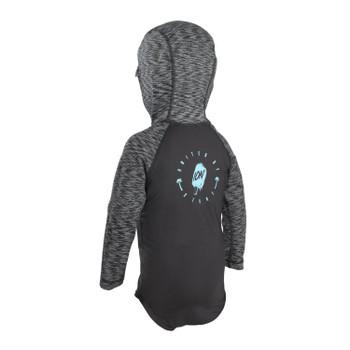2021 Ion Toddler Rashguard LS Hood - Black
