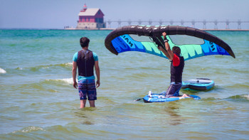 First Ride - Wing Surfing Lesson