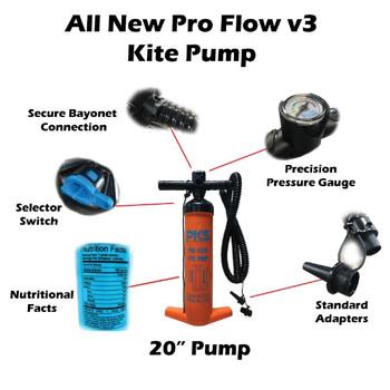 PKS Pro Flow V3 Kite Pump