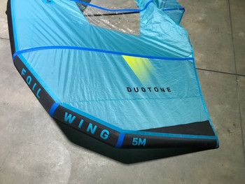 2019 Duotone Foil Wing 5m - Blue - Used
