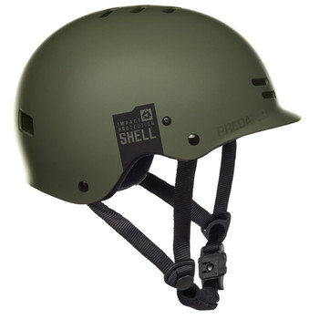 Mystic Predator Helmet (Dark Olive) - Right Side