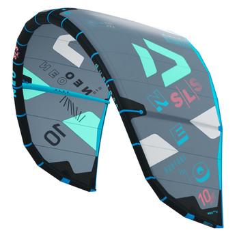 2022 Duotone Neo SLS Kiteboarding Kite - Grey/Mint