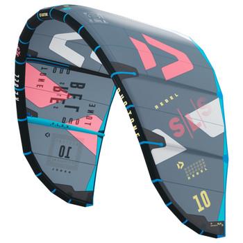 2022 Duotone Rebel SLS Kiteboarding Kite - Coral/Red/Blue