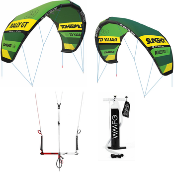 Rally Good Deal 9 & 14M Kiteboarding Package