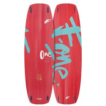 2022 F-One ONE Kiteboard (BO) - Red/Blue