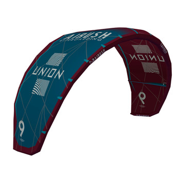 Airush Union V6 Kite - Teal/Red