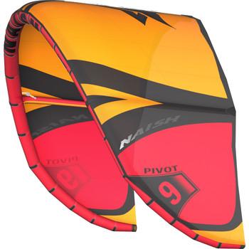 Naish S26 Pivot Kiteboarding Kite - Orange (Left Angle)