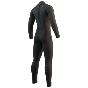 2022 Mystic Majestic 5/4 Full BZ Wetsuit - Back