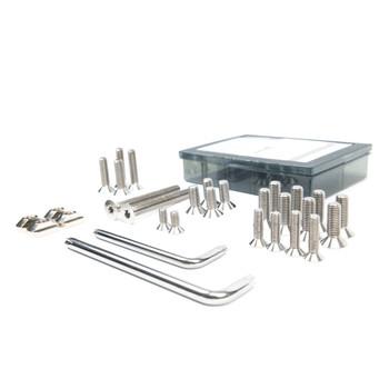 Axis Titanium Screw and Slider Set