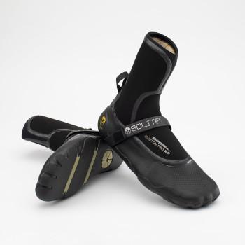 Solite Custom Pro 5mm Boots - Gum/Black
