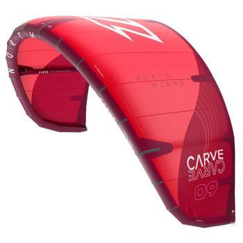 2022 North Carve Kiteboarding Kite - Red