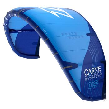 2022 North Carve Kiteboarding Kite - Blue