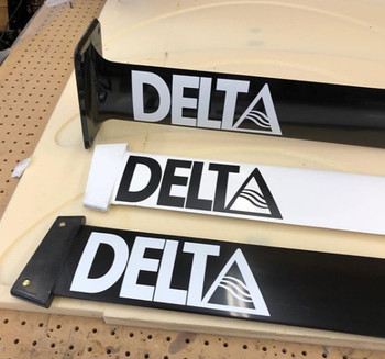 Delta Hydrofoil masts tuttle and plate connections