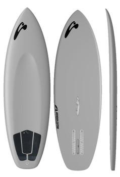 "Amundson Iwa Bird 5'8"" Foil Surfboard Grey"