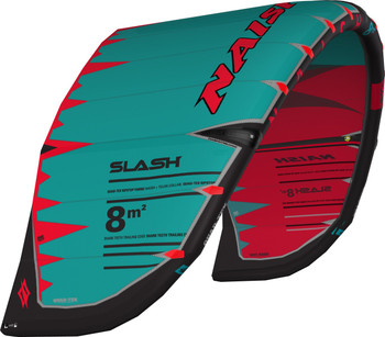 2019 Naish Slash Kiteboarding Kite - Red/Teal
