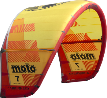 2019 Cabrinha Moto Kiteboarding Kite - Red/Yellow (001)