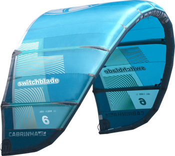 2019 Cabrinha Switchblade Kiteboarding Kite - Blue (002)