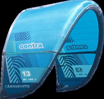 2019 Cabrinha Contra Kiteboarding Kite - Blue (002)