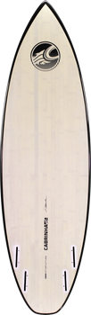 2019 Cabrinha S:Quad Kite Surfboard - Bottom