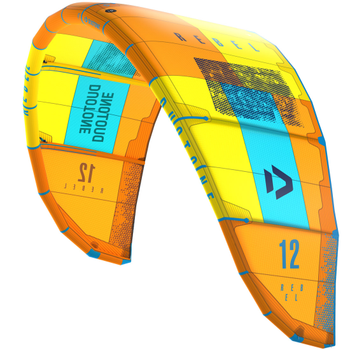 2019 Duotone Rebel Kiteboarding Kite - CC3 - Orange