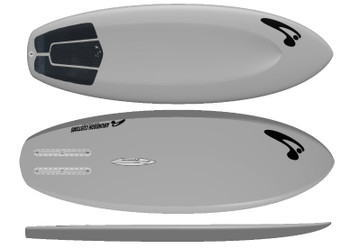 "Amundson Customs 5'0"" Nubby Foil Surfboard"