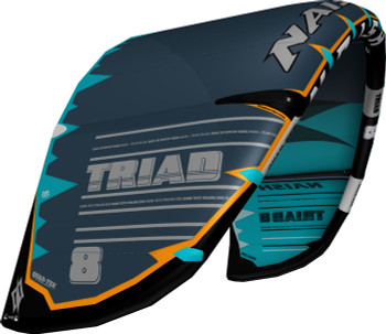 2019/20 Naish Triad Kiteboarding Kite - Grey/Teal