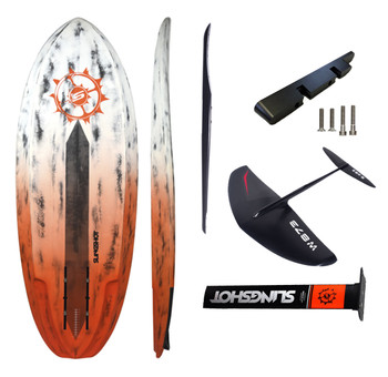 Almost Carbon Performance Foil Surfing Package