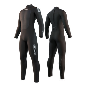 2021 Mystic Star 5/3 Full BZ Wetsuit - Black