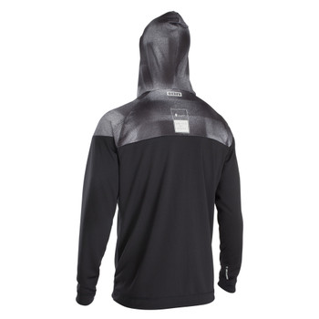 2020 Ion Men's Wetshirt LS w/ Hood - Black