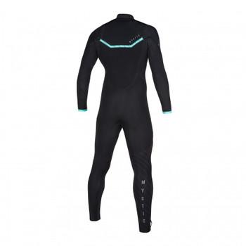 2020 Mystic Marshall 4/3 FZ Wetsuit - Black/Mint