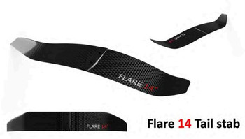 "UniFoil Flare 14"" Carbon Tail Wing"