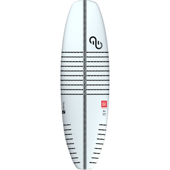 2020 Eleveight Escape Pro Kite-Surfboard v2 top