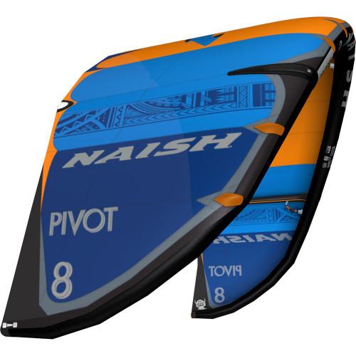 S25 Naish Pivot Kiteboarding Kite - Deep Blue/Blue/Orange