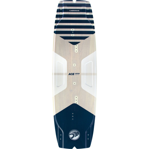 2020 Cabrinha Ace Kiteboard Top Deck - Wood