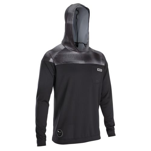 2020 Ion Men's Wetshirt LS w/ Hood - Black