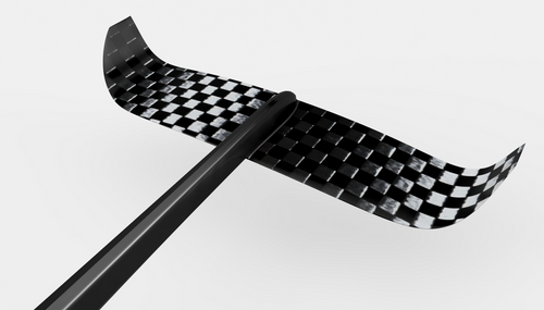 """UniFoil Flare 14"""" Carbon Tail Wing"""