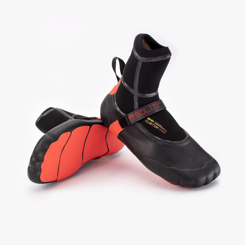 Solite Custom Fire 8mm Red/Black Boots