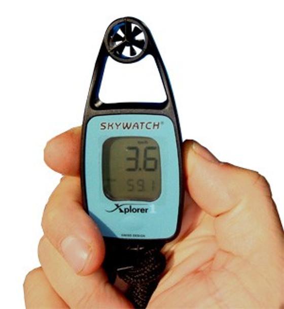 Skywatch Xplorer Windmeter