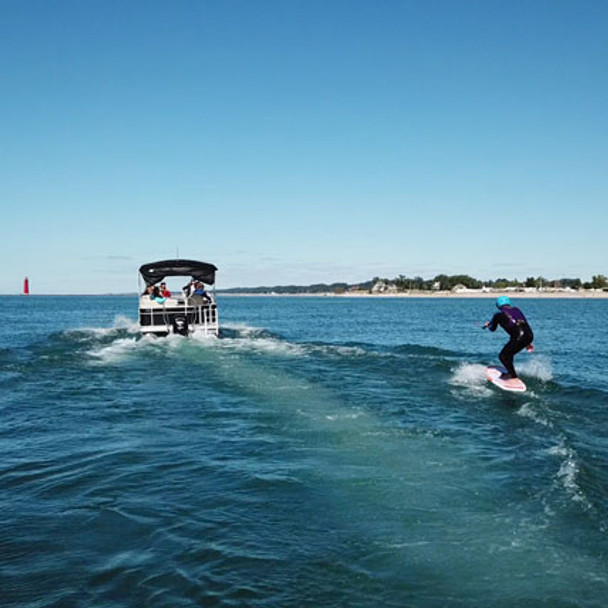 Pontoon Foilboard Lesson: the best way to get up and riding on a foil