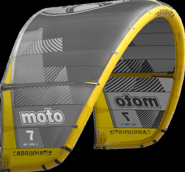 2019 Cabrinha Moto Kiteboarding Kite - Black/Yellow (003)