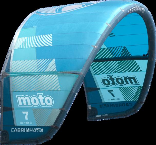 2019 Cabrinha Moto Kiteboarding Kite - Blue (002)