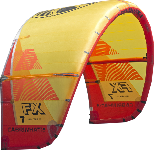 2019 Cabrinha FX Kiteboarding Kite - Red/Yellow (001)