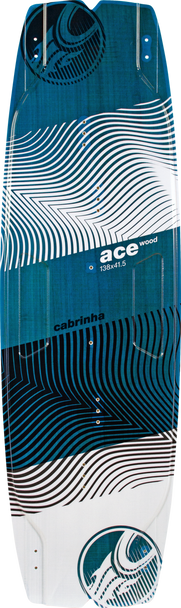 2019 Cabrinha Ace Wood Kiteboard - Deck