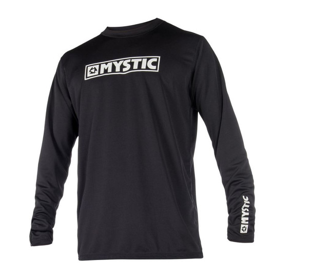2018 Mystic Star Quick Dry L/S  - Black