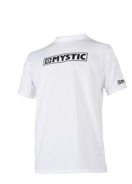 2018 Mystic Star Quick Dry S/S  - White